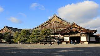 Япония - Замок Нидзё. Замок Ниномару, Национальные сокровища Японии.