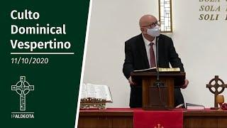 Culto Vespertino (11/10/2020)