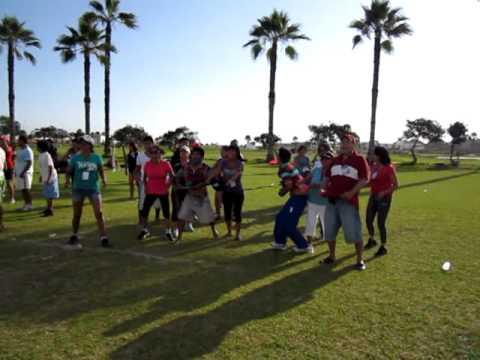 Campamento Kawai 2012 Juegos Atrapa Globos Con Agua Youtube