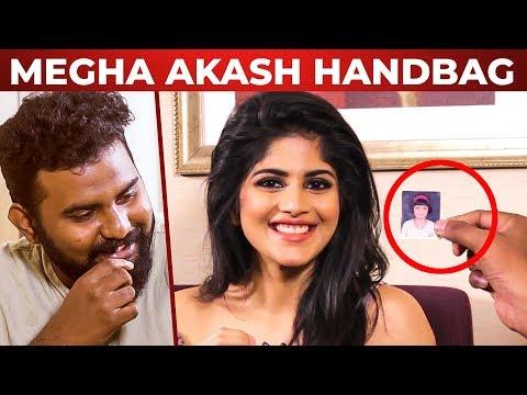 Megha Akash Handbag Secrets Revealed | Super Fun Chat | Vantha Rajavathaan Varuven
