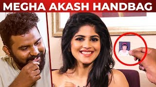Megha Akash Handbag Secrets Revealed | Super Fun Chat | Vantha Rajavathaan Varuven