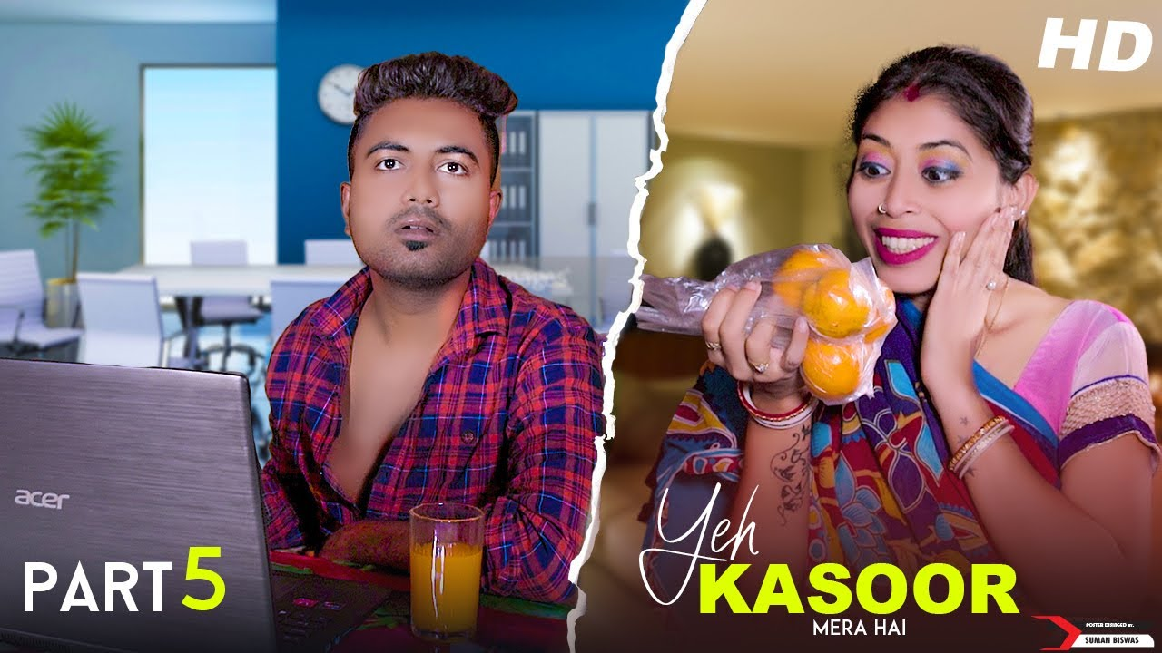 Yeh Kasoor Mera Hai husband vs wife sad love story video   heart broken love story video hindi 2021