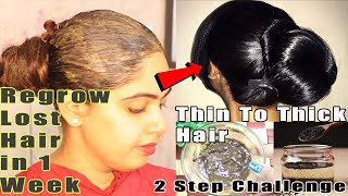 1 Week Challenge DIY Hair Growth Mask and Oil For massive hair growth