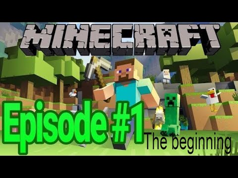 minecraft walkthrough #1 finding resource
