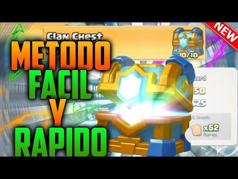 ¡¡COMO CONSEGUIR EL NUEVO COFRE DEL CLAN RAPIDO y FACIL!! TRUCOS nuevo COFRE del CLAN Clash Royale
