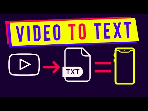 How to Convert a YouTube Video to Text On Mobile Phone | Creative Peers (Urdu/Hindi)