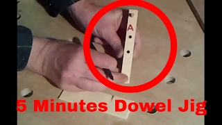 ⚙ How To Make A Dowel Jig