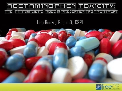 Acetaminophen Toxicity: The Pharmacist's Role in Prevention and Treatment