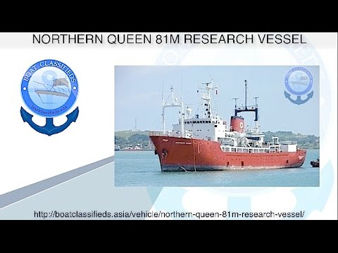Northern Queen Commercial vessel, Special Purpose 265 Ft.1978