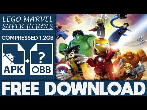 How To Download LEGO Marvel Super Heroes Apk OBB For Android 2018