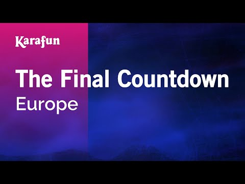 Karaoke The Final Countdown - Europe * thumbnail