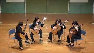 【ギター4重奏】【イヤホン推奨】Sevilla by I. Albéniz / セビリア(I. アルベニス)