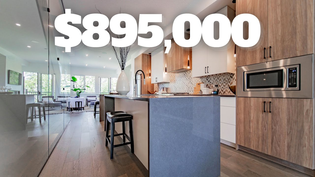 Inside a Luxury $895,000 Bankview Townhome near Downtown Calgary! - Real Estate 2021