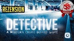 Detective: A Modern Crime Board Game - Rezension auf deutsch - Brettspiel im Test