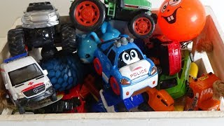 BOX WITH TOYS. Fun Video for Kids, A lot of toys, Children Play, Baby Music