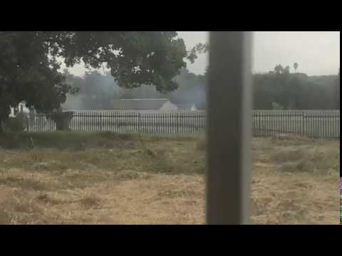 Boksburg residents record blasting of armored vehicle on phone