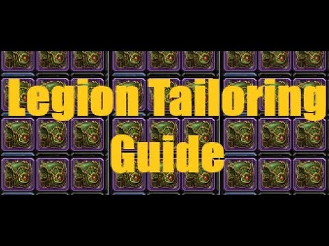 Best All Round Profession?? | Legion 7.3 Tailoring Gold Guide