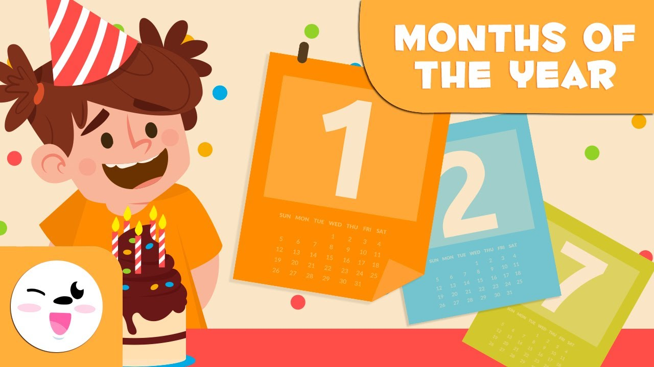 Download Months of the Year - Vocabulary for Kids