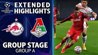 FC Red Bull Salzburg vs. Lokomotiv Moscow: Extended Highlights   UCL on CBS Sports