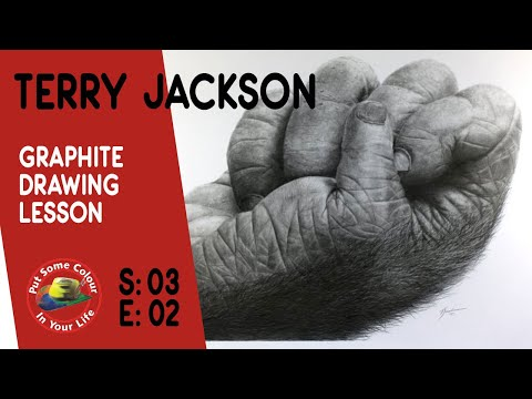 Graphite Drawing Lesson with Terry Jackson