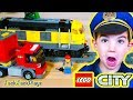 Lego City Train Unboxing + Pretend Play Police Intro Skit Mp3
