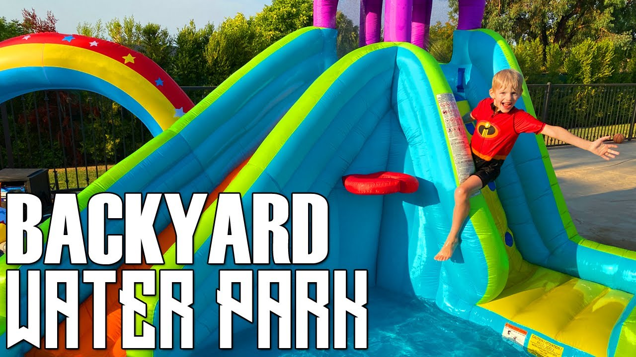 Turned my Backyard into a Water Park!
