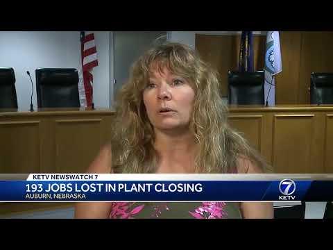 193 jobs lost in Auburn plant closure