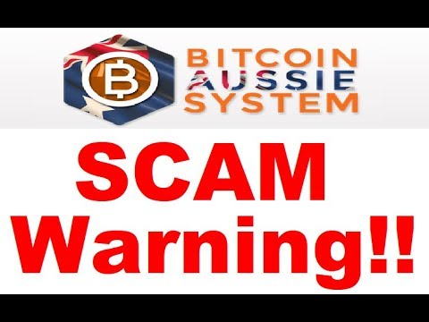 Bitcoin Aussie System Review - SCAM EXPOSED (Important Alert)