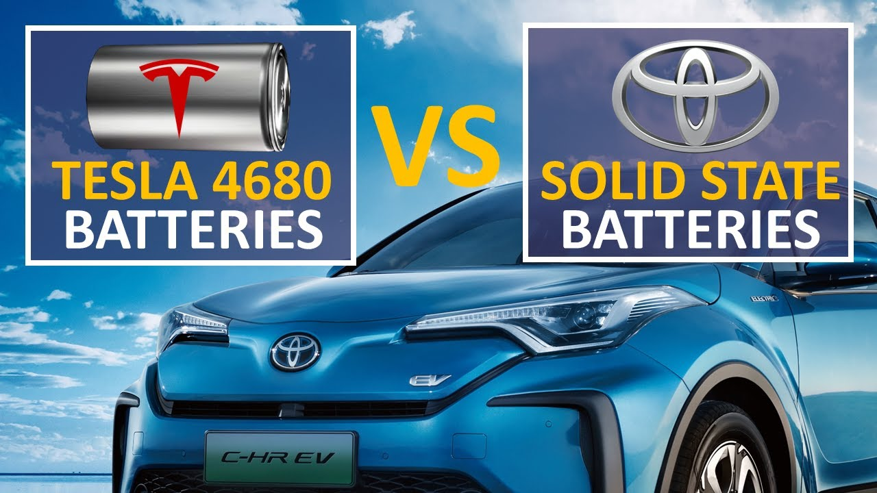 Tesla NEW EV Battery Vs Toyota Solid State Battery