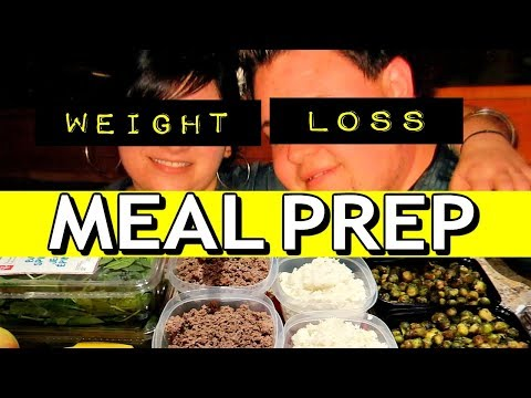 how-we-lost-260-pounds:-couples-weekly-weight-loss-meal-prep