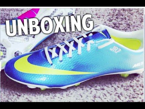 on sale da4e7 4c45c John Reyes - Unboxing Nike Mercurial Vapor IX SG Pro - Neptune Blue Volt  Blue