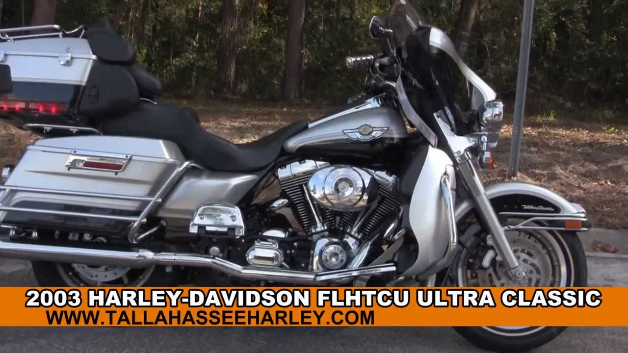 Used 2003 Harley Davidson Ultra Classic Electra Glide Motorcycle for sale