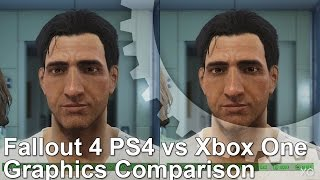Fallout 4 PS4 vs Xbox One Graphics Comparison
