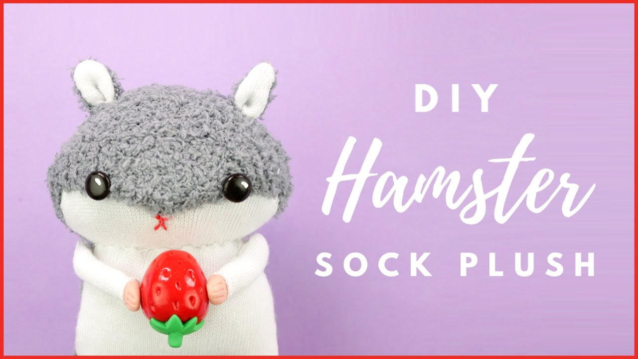 how to make stuffed toys out of socks