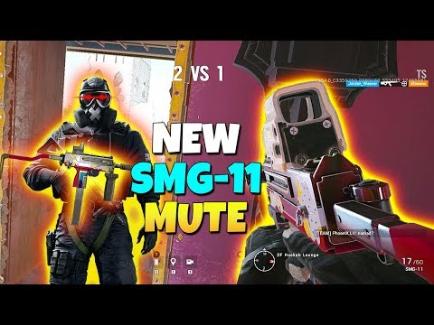 New SMG-11 Mute Is Amazing! - TTS - Operation Wind Bastion | Rainbow Six Siege