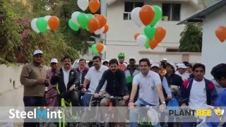 No Vehicle Day Raipur | Powered By SteelMint