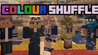COLOUR SHUFFLE   Minecraft Mini Game   With Friends