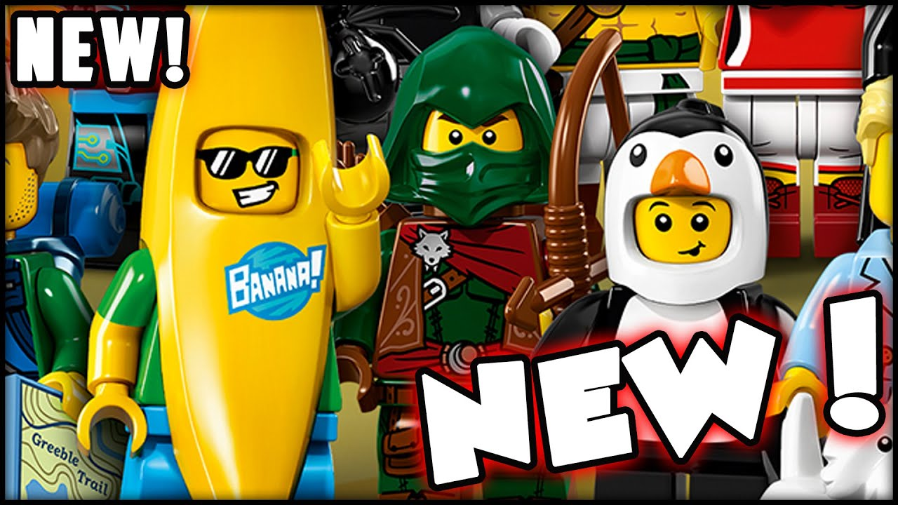 New Figs New Characters Lego Minifigures Series 16 Blind Bags
