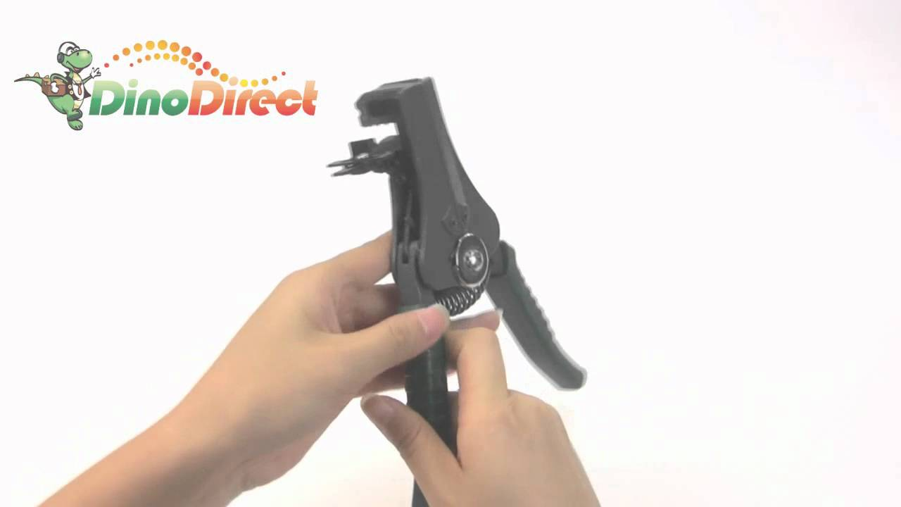 Wire Cable Stripper Cutter Pliers WTS-369C from Dinodirect.com ...