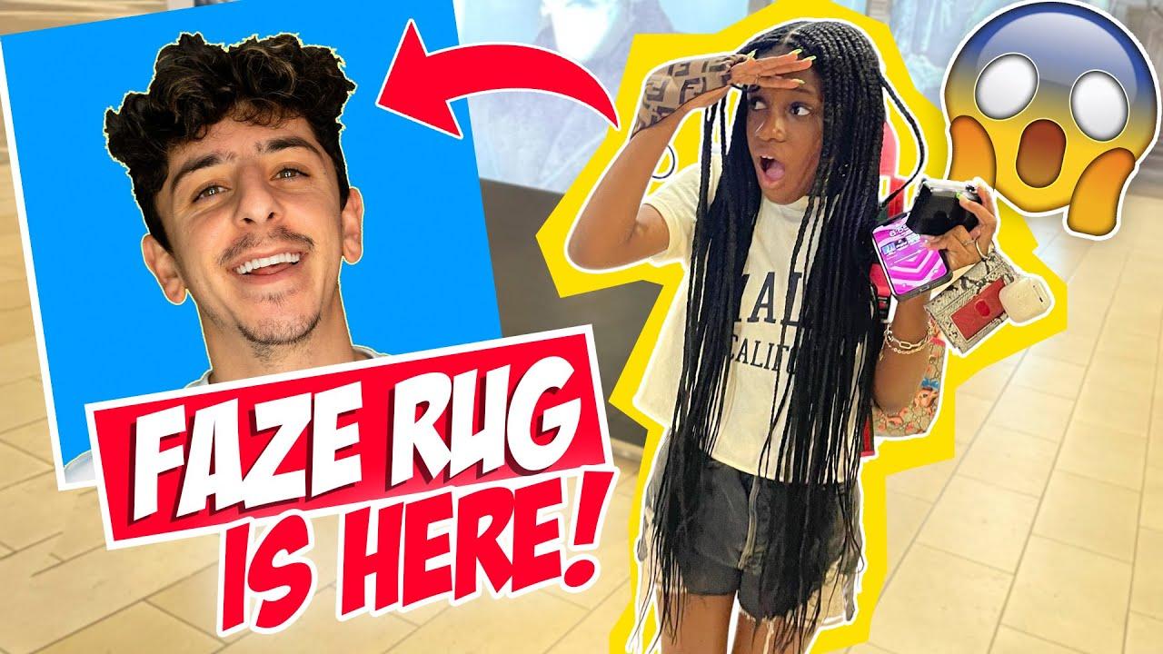I Tried To Find Faze Rug In LA