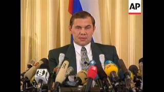 Download Mp3 Russia - Alexander Lebed Press Conference