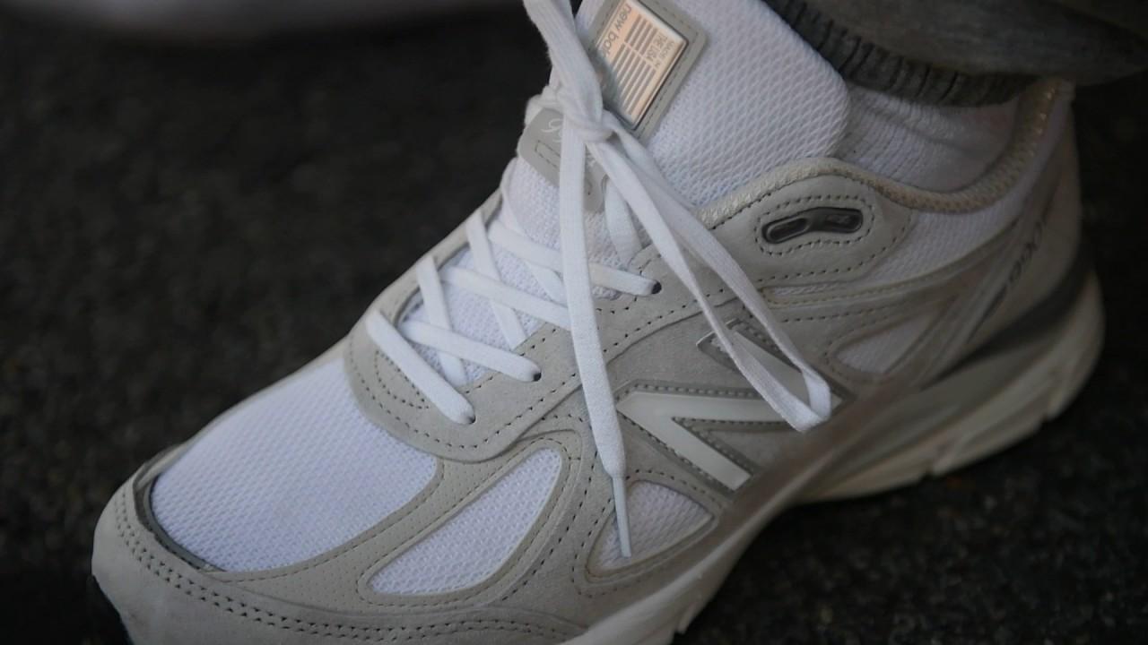 online retailer e2b3c 0587d New Balance 990v4 White (Dope or Nope)