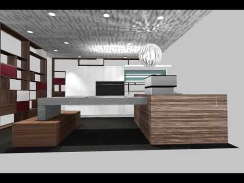 Kitchen Of The Future   Award Winning Design By Minosa For Apollo Kitchens    YouTube