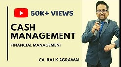 Financial Management -Cash Management