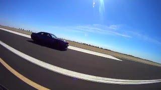 Corvette C6 Z06 vs stock Challenger Hellcat 1/2 Mile