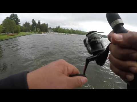 Fishing At Cazenovia Lake In NY