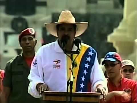 Presidente Nicolás Maduro: aumento de salario en noviembre 2013 será de 10%
