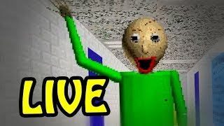 BALDI'S BASICS IN EDUCATION AND LEARNING [🔴LIVE]