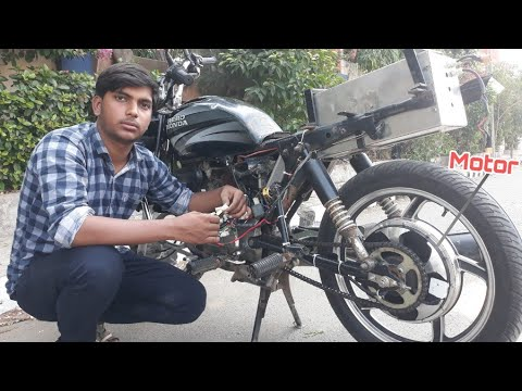 How to make a electric motorcycle at home