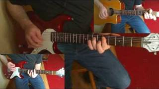 "The Rolling Stones ""Brown Sugar""  Electric/Acoustic Guitar"